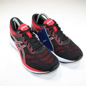 ASICS GEL Excite 6 Men Black Speed Red Running Sho